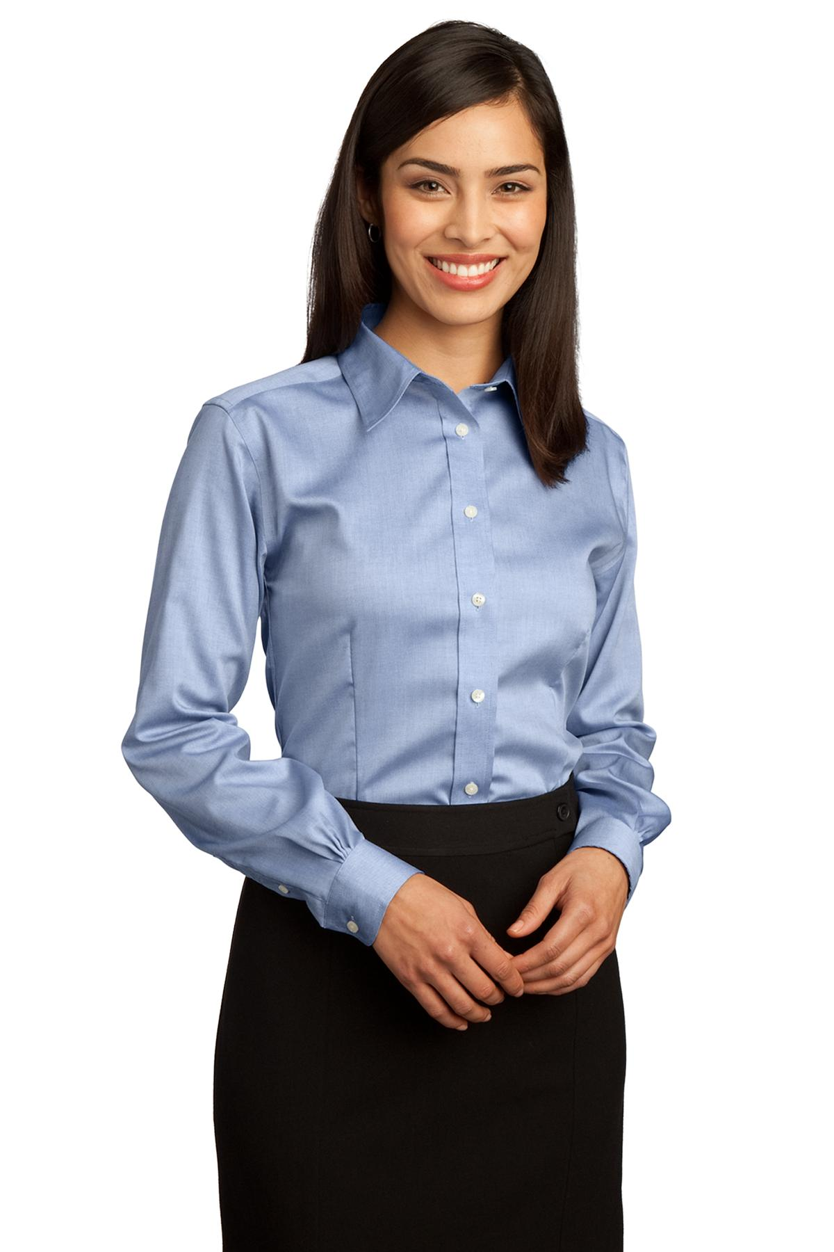 db10022dc Red House ® - Ladies Non-Iron Pinpoint Oxford Shirt. RH25 | Matrix  Promotional Marketing