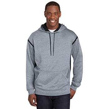 1ea515e7e5e Sport-Tek   174  Tech Fleece Colorblock Hooded Sweatshirt.
